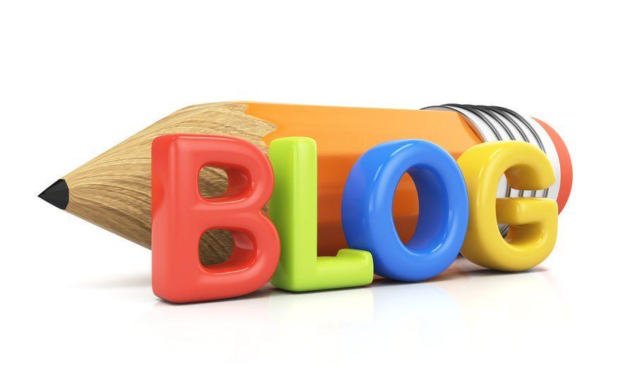 Blogging-concept