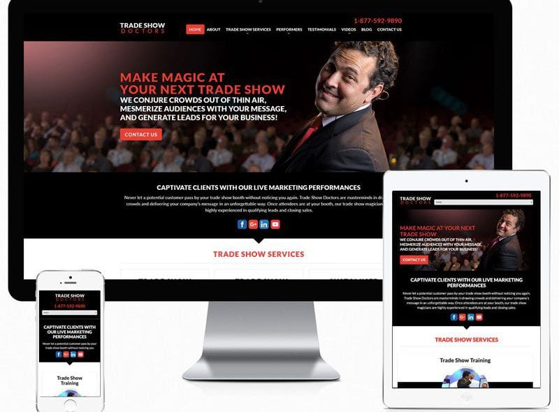 trade-show-doctors-website-design