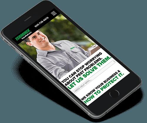 terminix-website-design