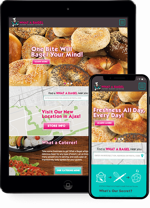 website-design-what-a-bagel